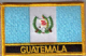 Guatemala Embroidered Flag Patch, style 09